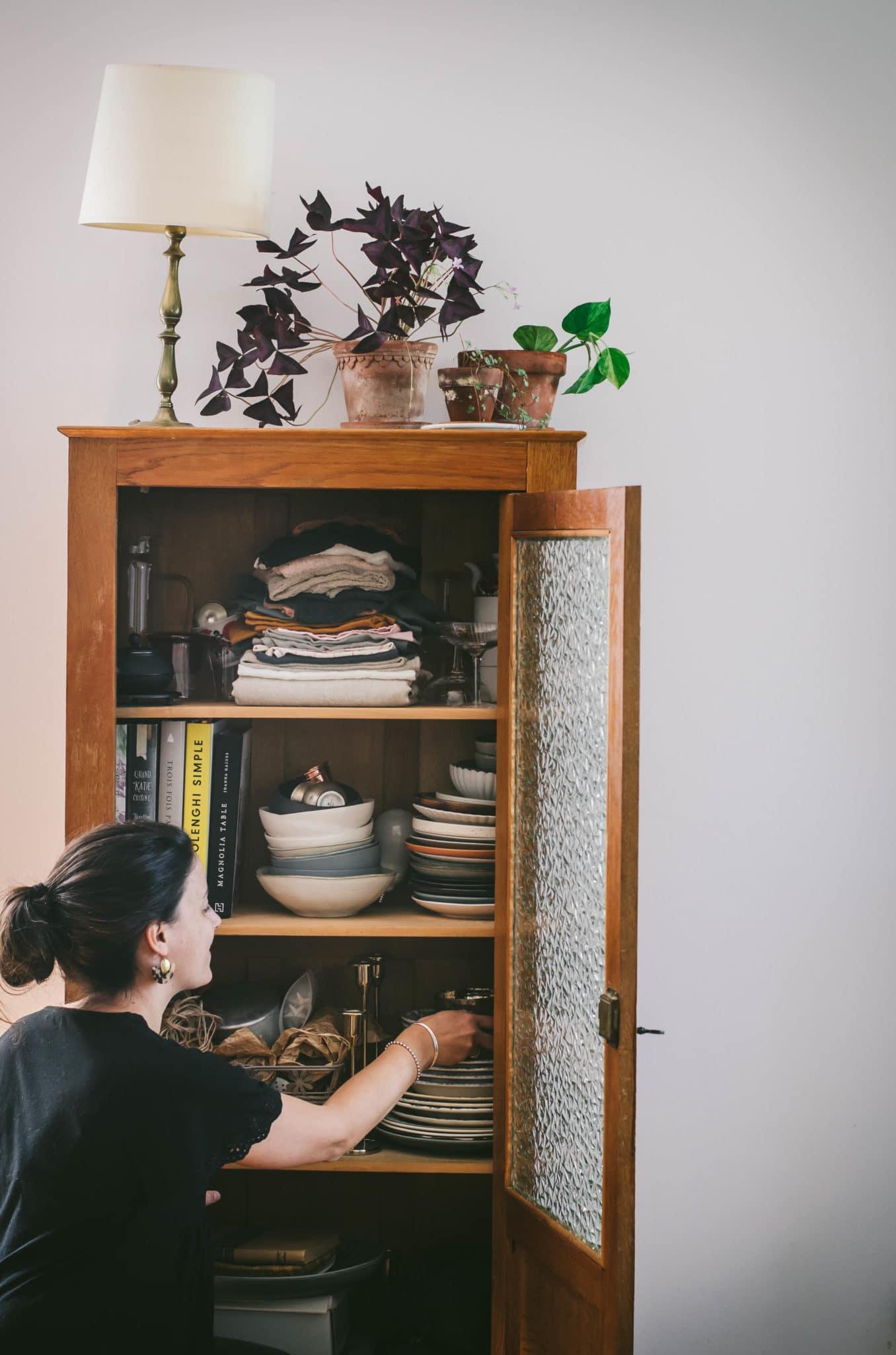 Armoire vintage pour ma vaisselle