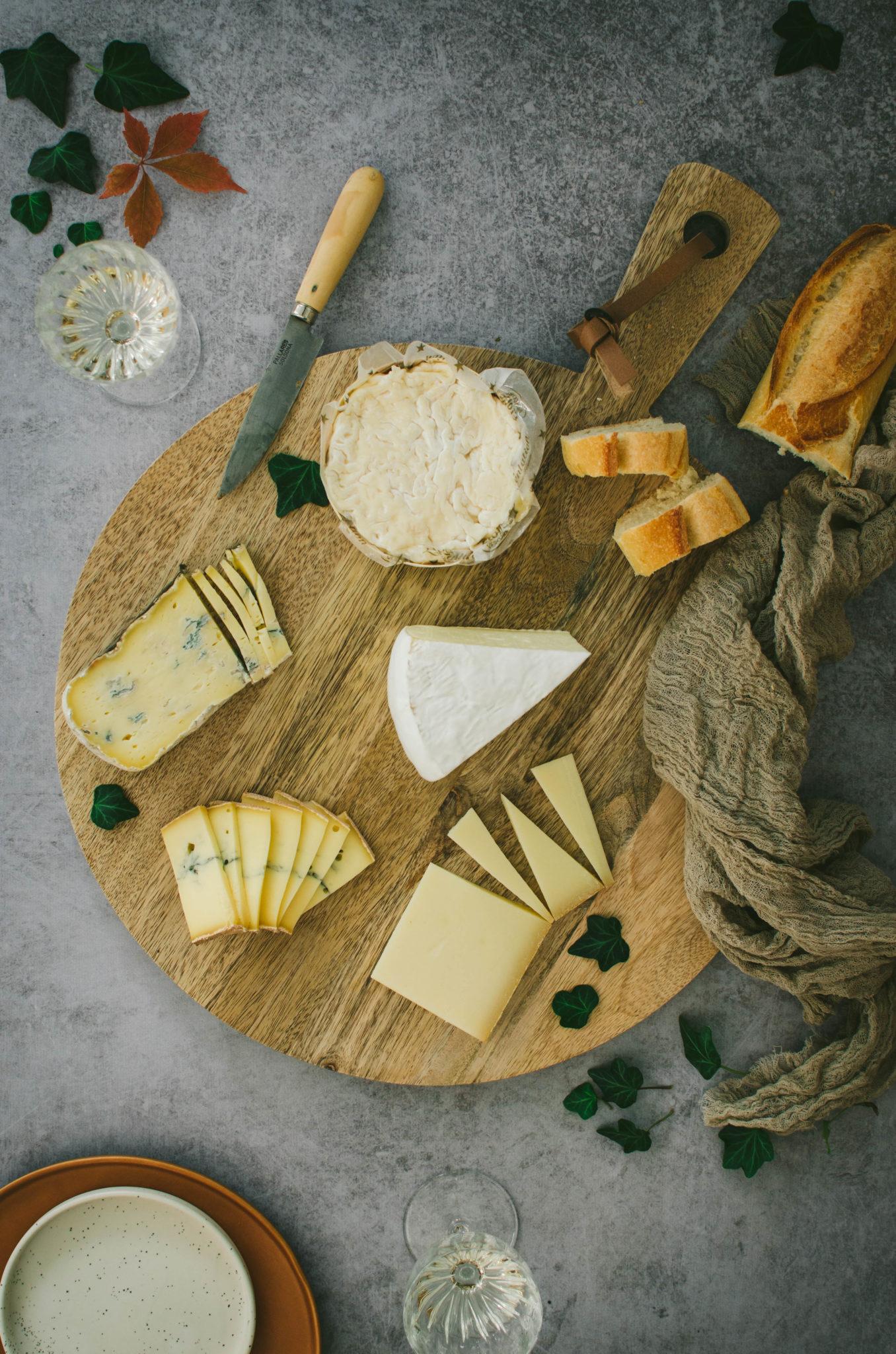 mes conseils pour faire un joli plateau de fromages
