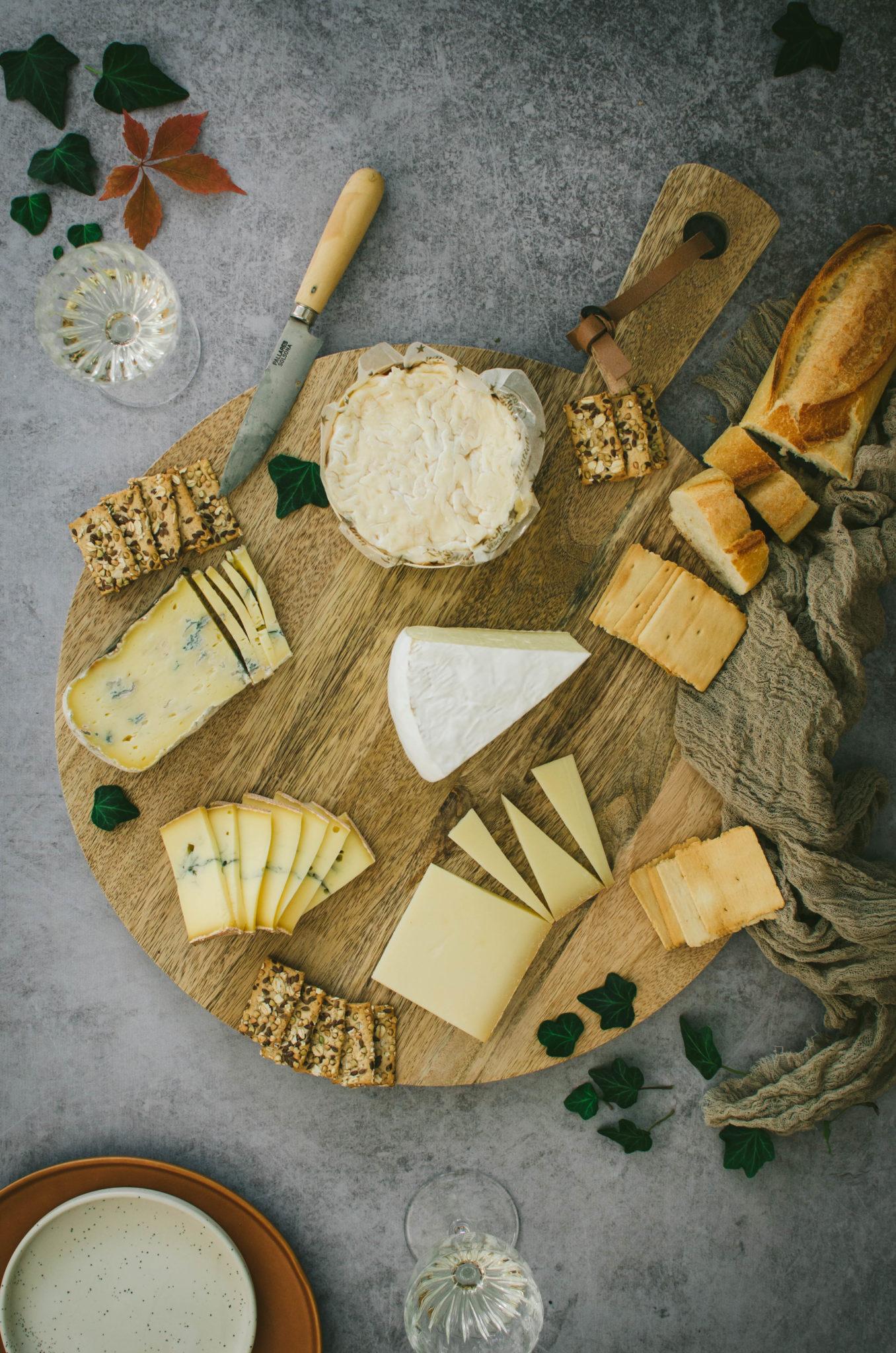 Comment faire un joli plateau de fromages et charcuteries