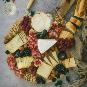 plateau fromages charcuteries