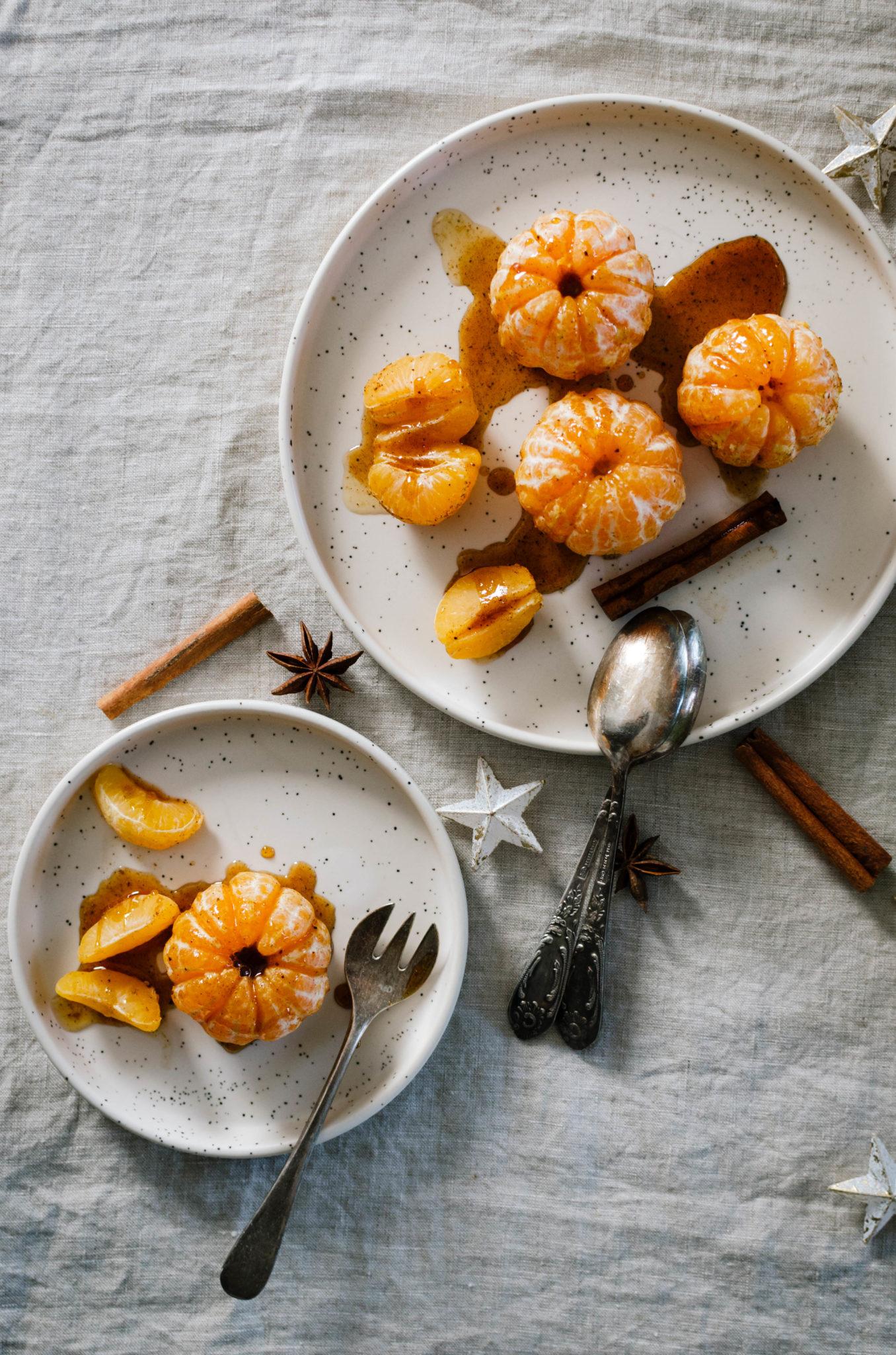 Agrumes miel épices de Noël