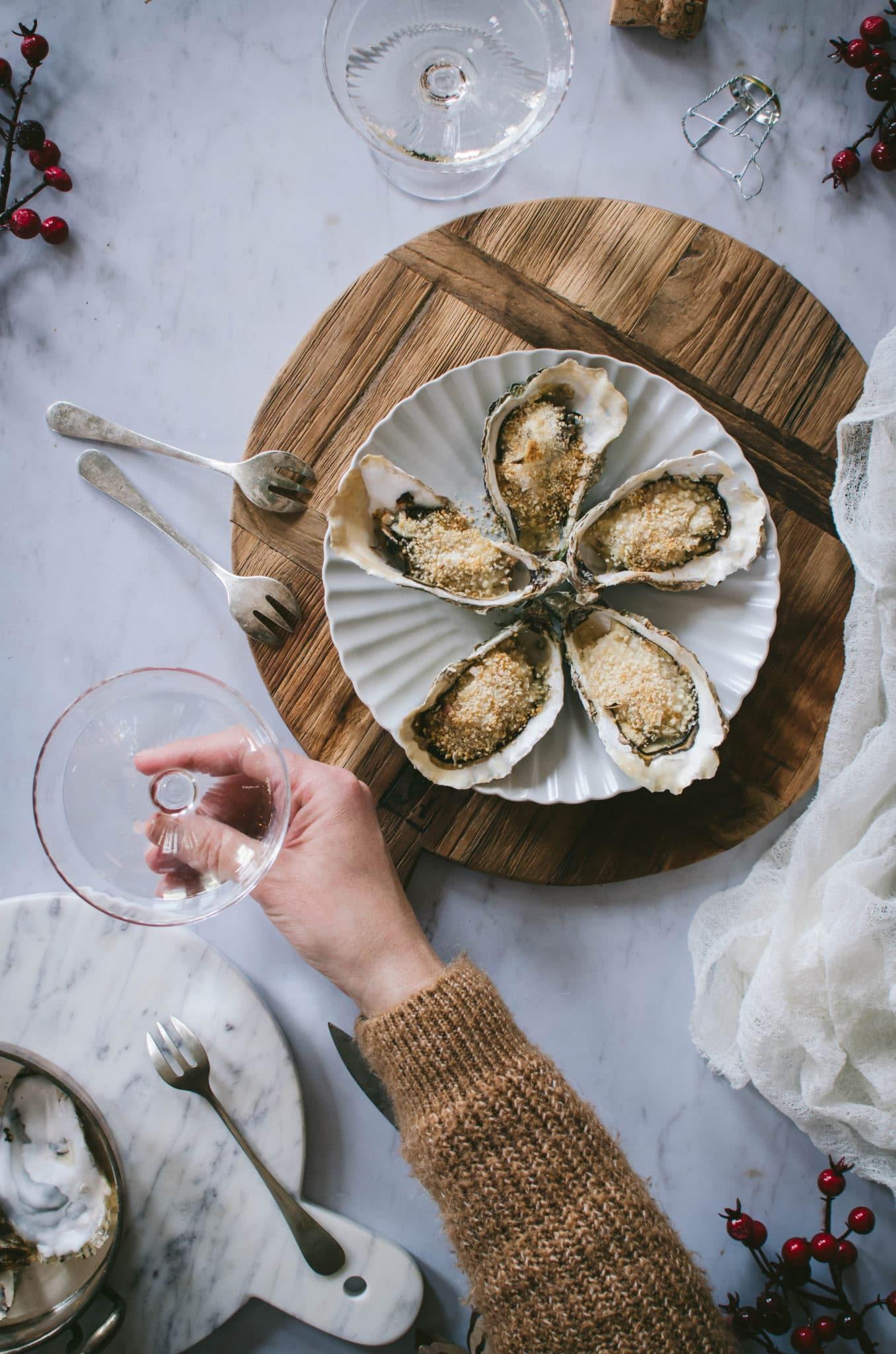 fruits de mer gratinés
