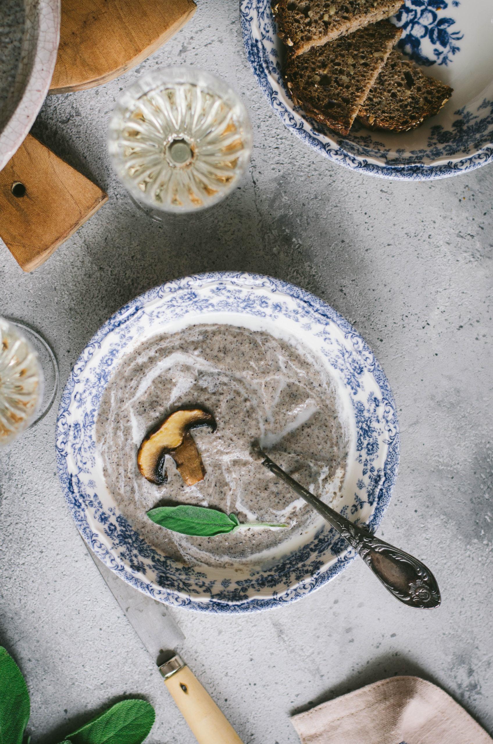 Velouté champignon