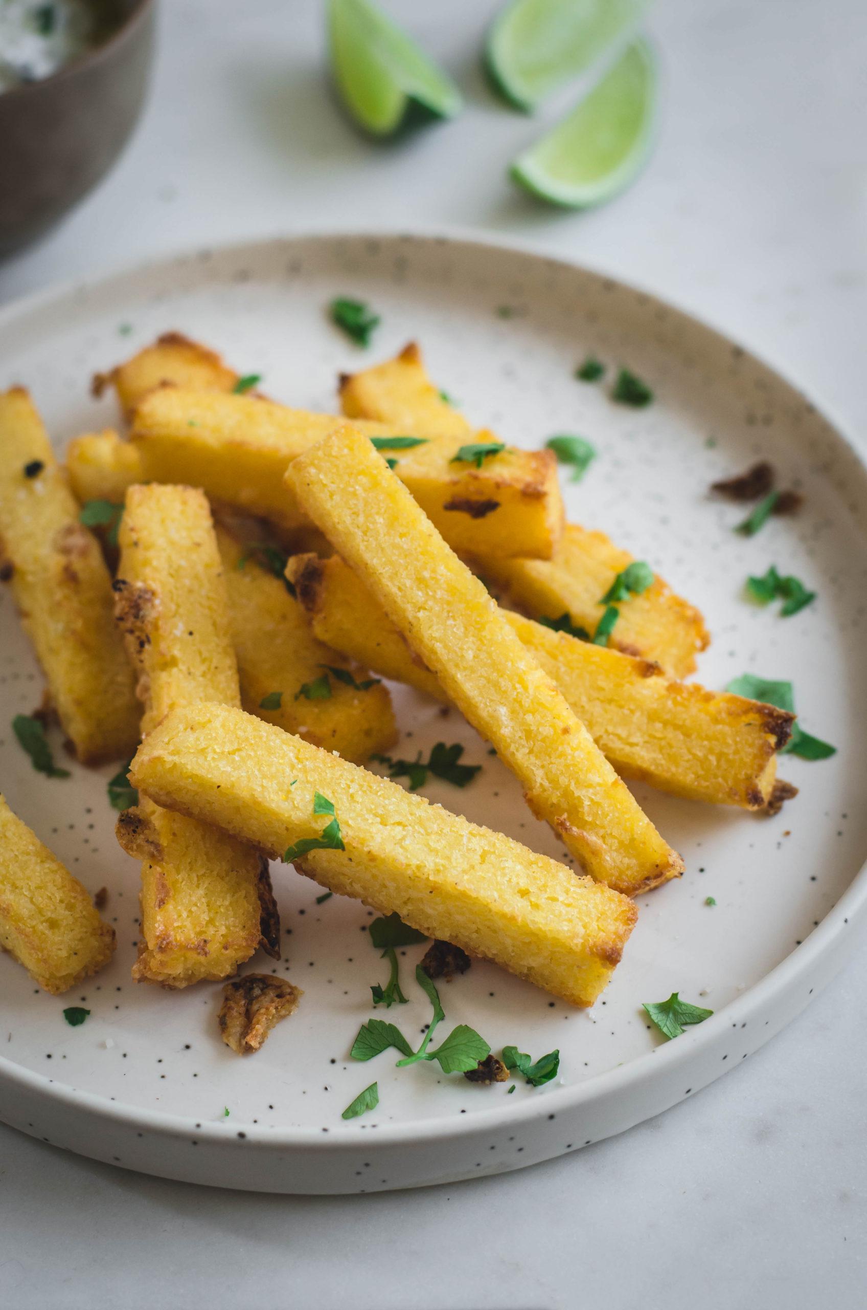 frites de polenta au four