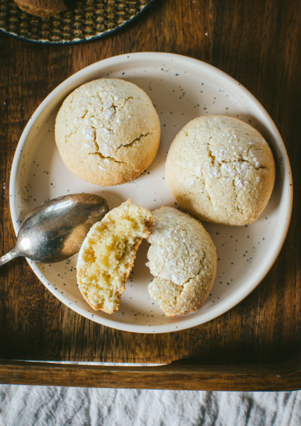 Biscuits Amaretti moelleux