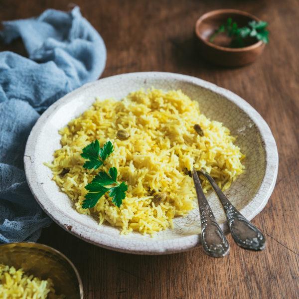 Riz à l'indienne aux épices