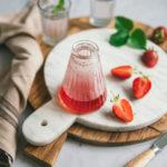 Sirop de fraise maison