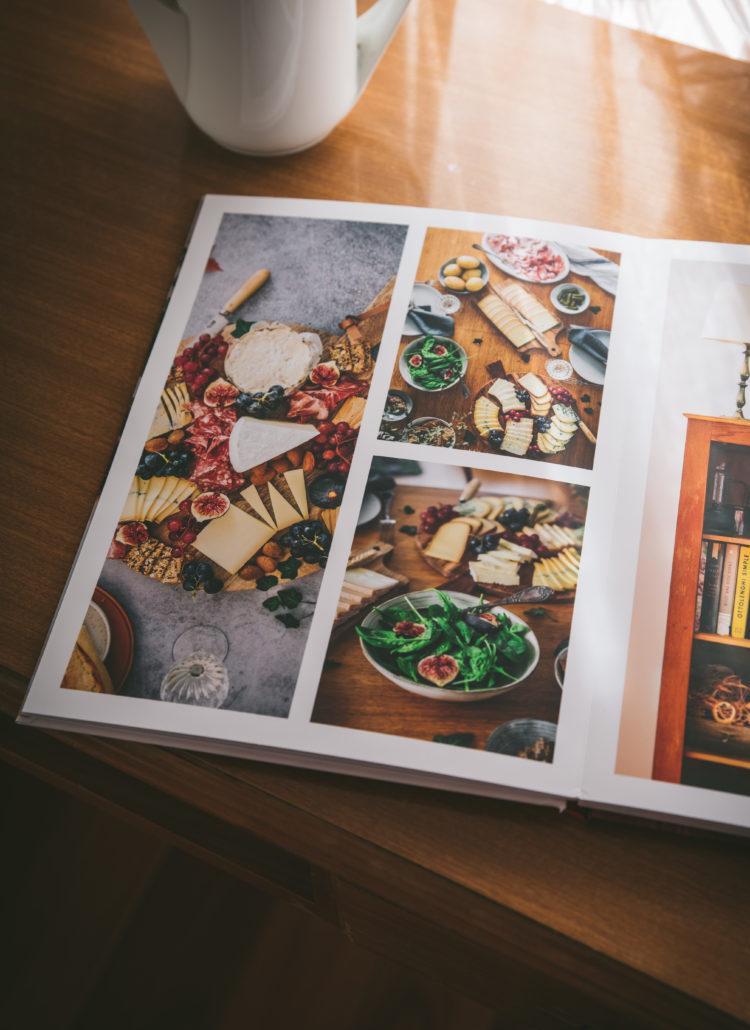 Livre photo de mes recettes