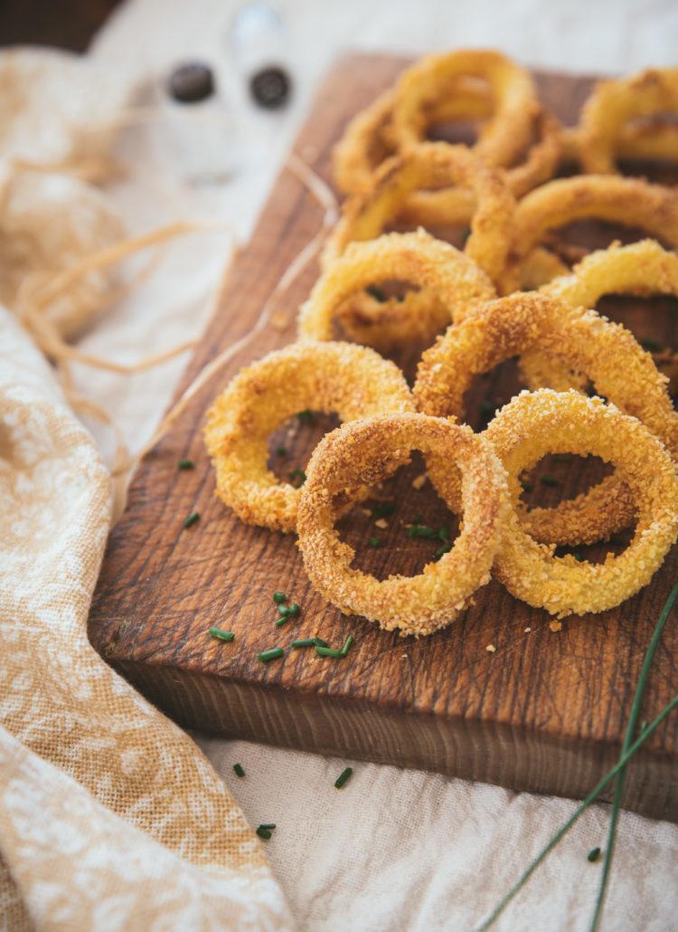 oignon rings au four