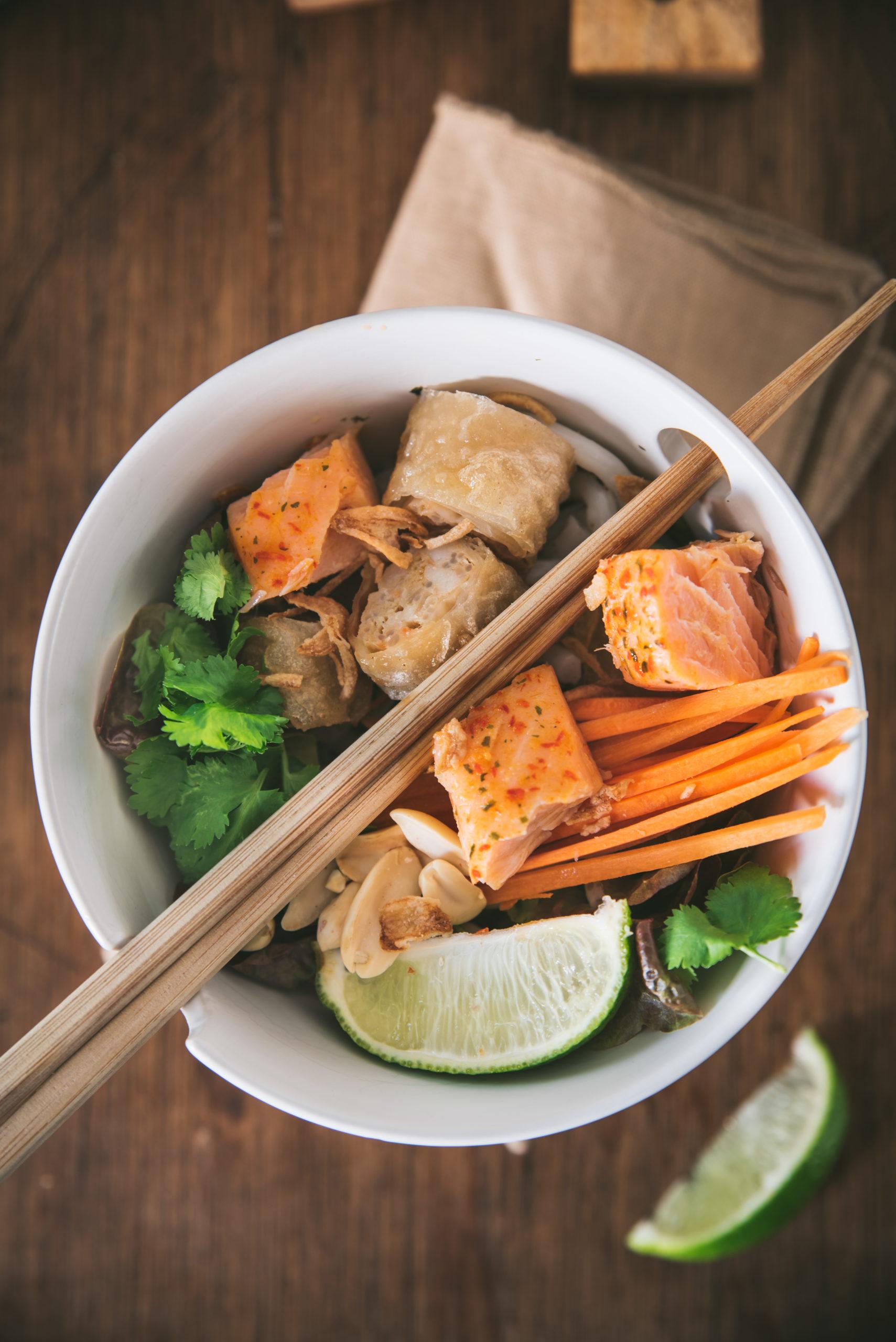 Bo Bun au saumon