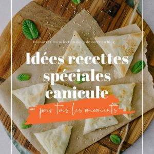 idees recettes speciales canicule
